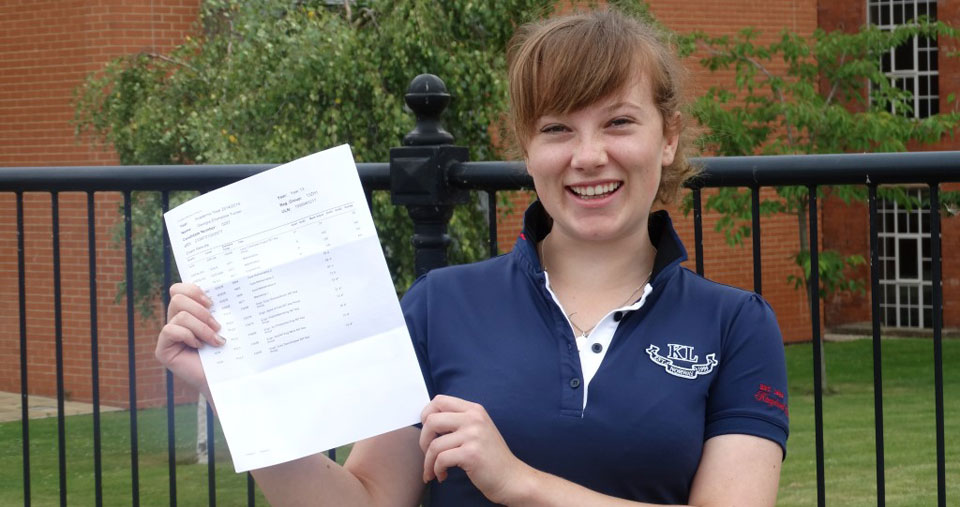 Georgia Turner - Sixth Form Results Image