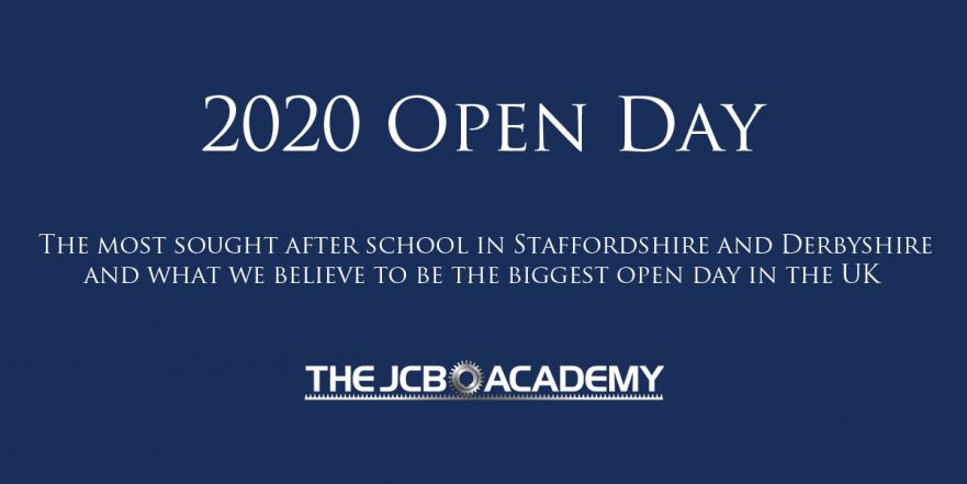 JCB Academy 2020 open day