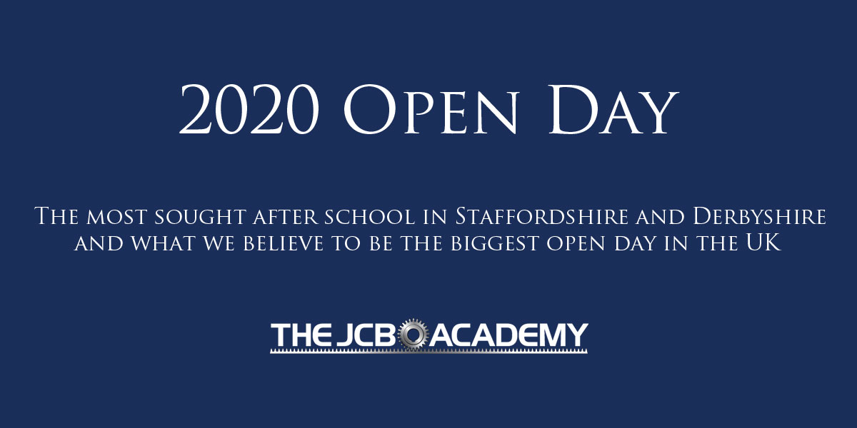 JCB Academy 2020 open day