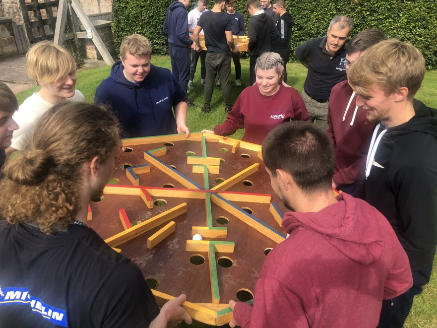 Apprentice induction day 2020